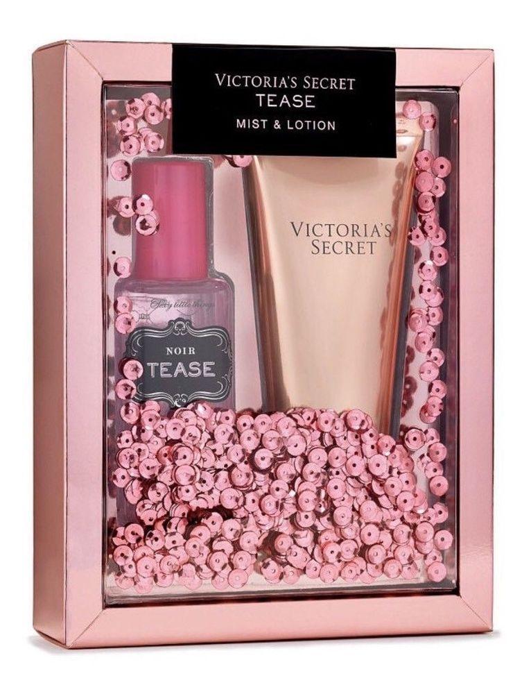 5dd10ed74f6 Victoria s Secret TEASE Fragrance Perfume Mist   Lotion Gift Set Sealed NIB   VictoriasSecret