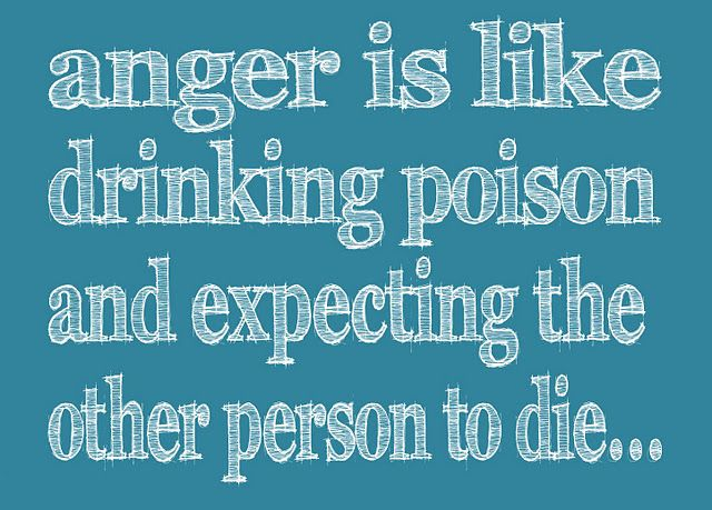 Anger is...