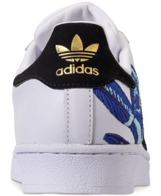 best sneakers 184ec d0349 adidas Women s Superstar Casual Sneakers from Finish Line - White 8.5