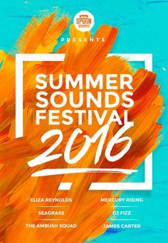 Create A Music Festival Poster Design In Photoshop  Festival