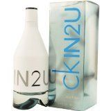 CK IN2U by Calvin Klein Mens EDT SPRAY 3.4 OZ by Calvin Klein. $33.48. 100% Authentic Brand Name Merchandise!. EDT SPRAY 3.4 OZ. Launched by the design house of Calvin Klein in 2007, CK IN2U by Calvin Klein is classified as a  fragrance.  This masculine scent posesses a blend of: Grapefruit Leaves, Shiso, Lime, Gin Fizz, Pimento, Cocoa, Vetiver, White Cedar, Musk, Frosted Tangelo