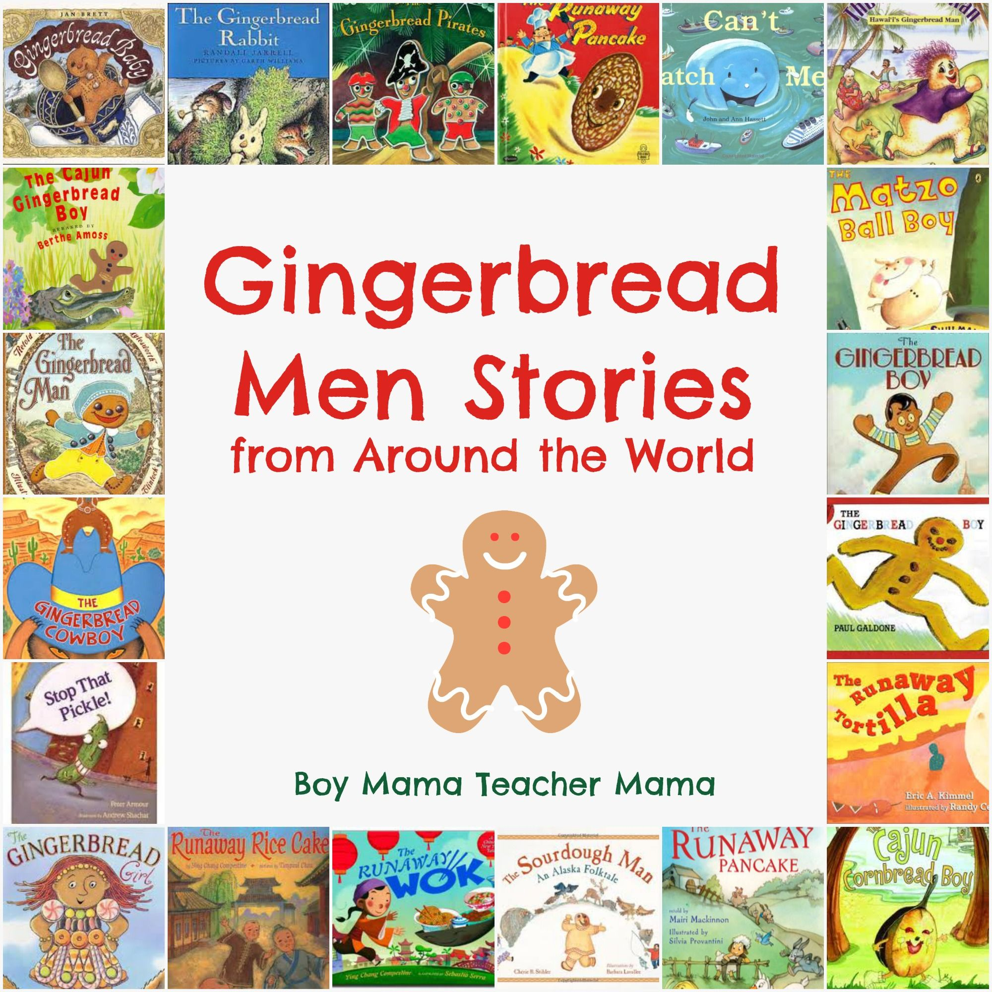 Gingerbread Stories from Around the World Gingerbread