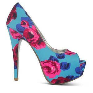 ZU Shoes Ingrid Floral Print in Blue Profile Photo