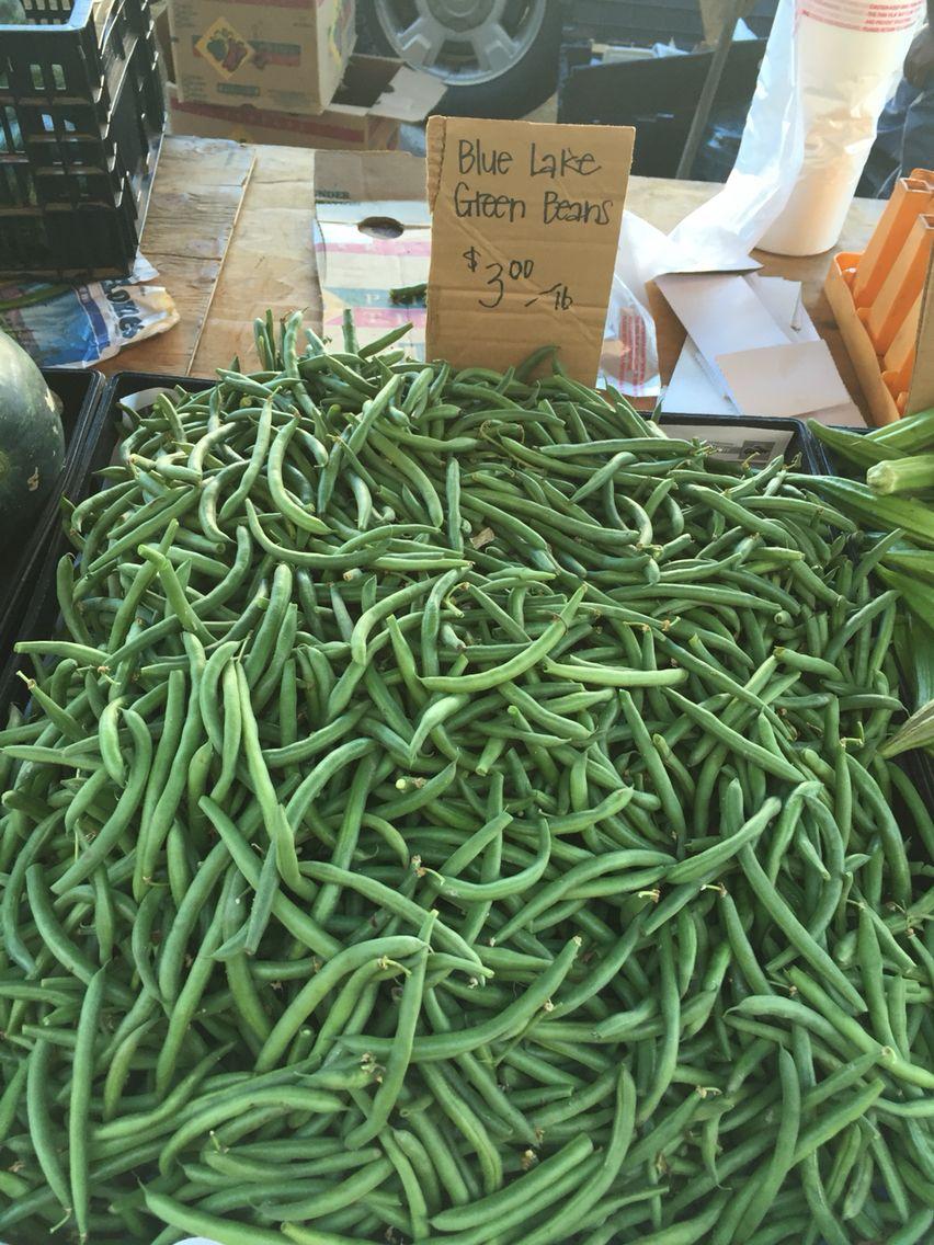 Green beans !!