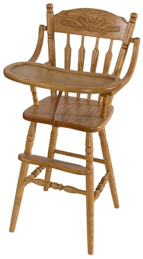 Amish Farmhouse Wooden High Chair Just In Case I Ever Win The