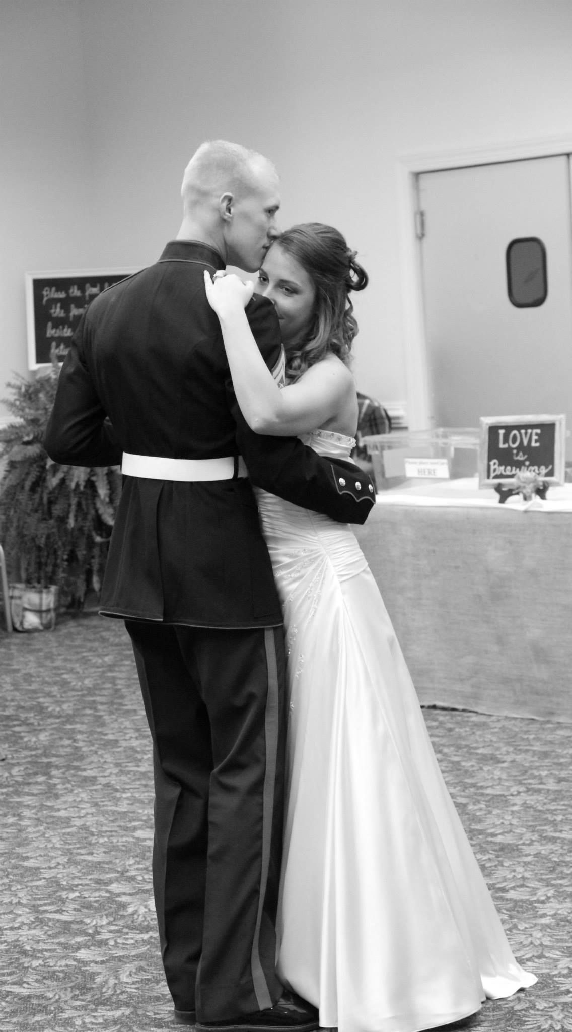 Marine first dance my wedding pinterest marines and weddings