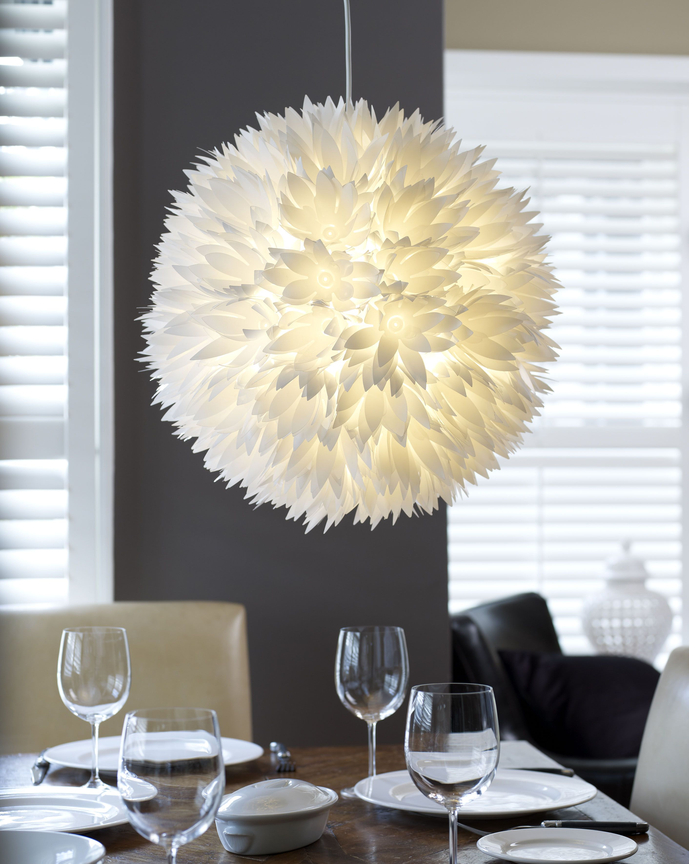 Stylish burst of white flower pendant lighting ideas pinterest stylish burst of white flower pendant mightylinksfo