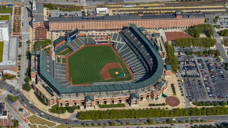 Baltimore Maryland Camden Yards Ball Park