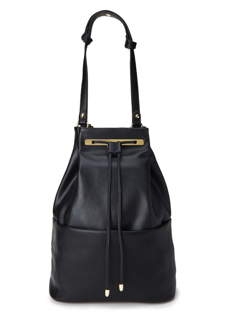 Faux Leather Backpack | FOREVER21 - 1000083292