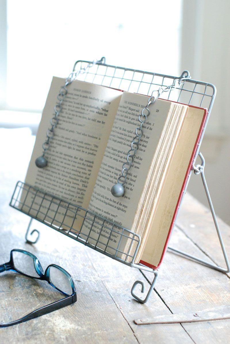 Vintage Farmhouse Cookbook Stand Cook Book Stand Recipe Book Stand Farmhouse Decor