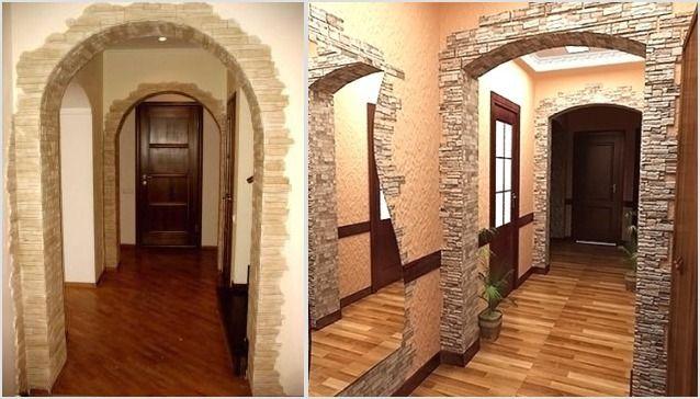 Идеи отделки арки фото