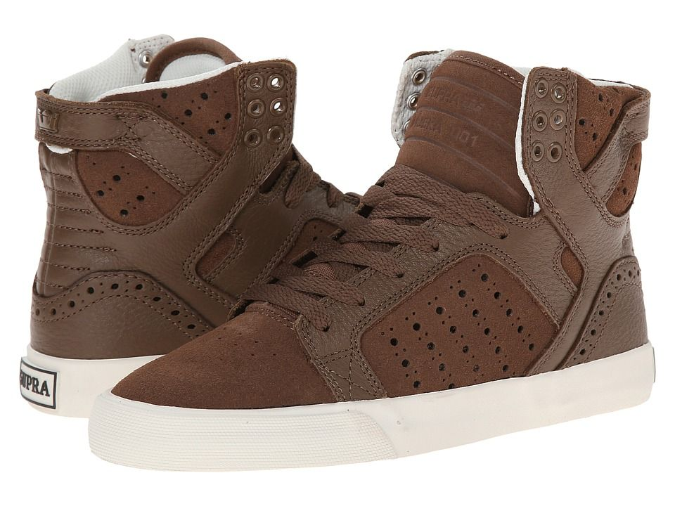 Womens Shoes Supra Skytop Brown/Brogue/Bone