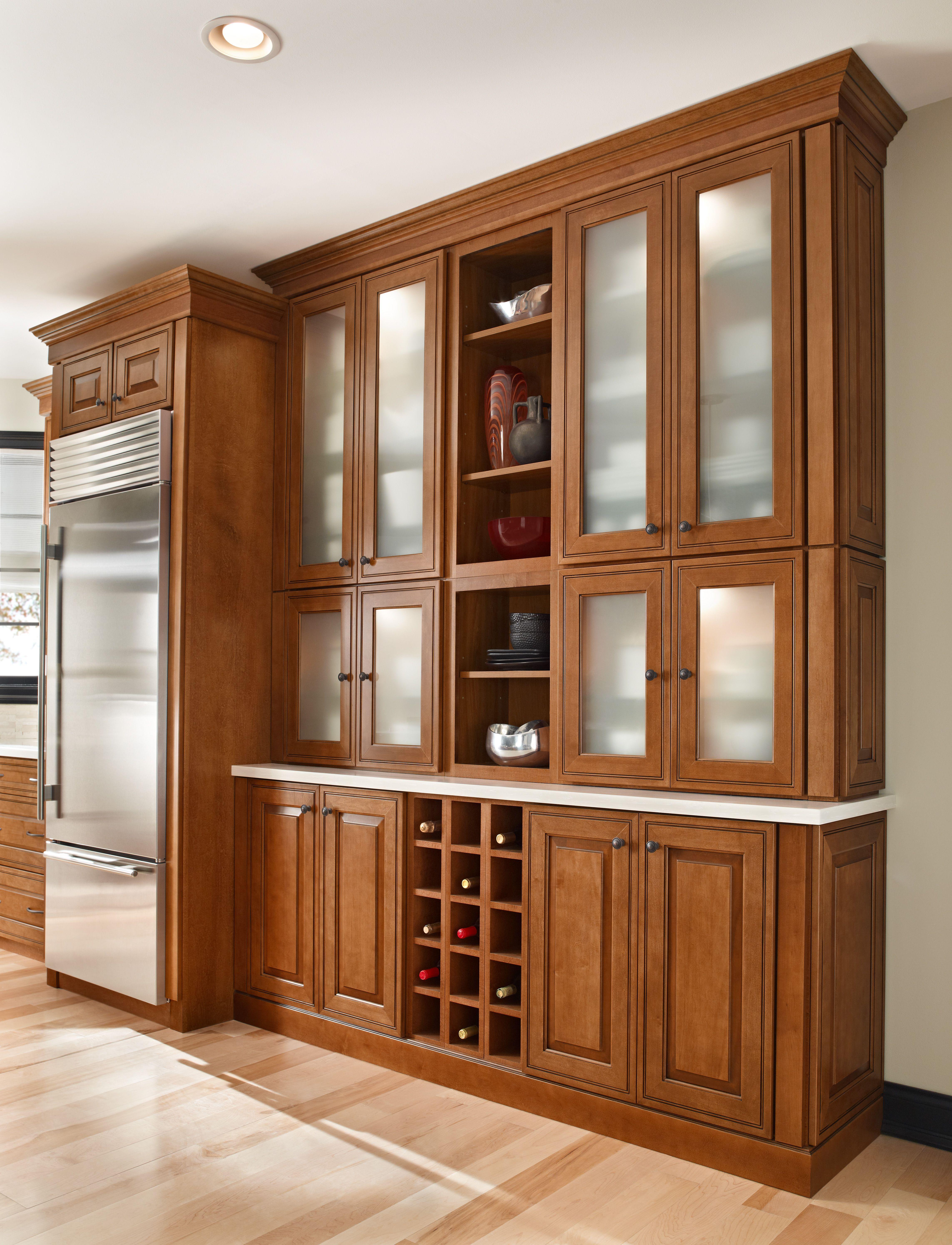 Waypoint Kitchen - 760 Door - Maple w/ Auburn Glaze | Bath ...