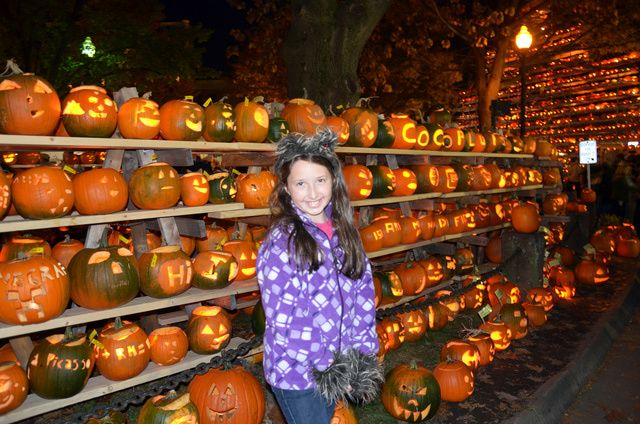 Find Fall Fun in New England the Weekend of October 24-25: Last year, my family and I helped set a new Guinness World Record at the Keene Pumpkin Festival in New Hampshire. Can the total number of lit jack-o'-lanterns be topped in 2014?