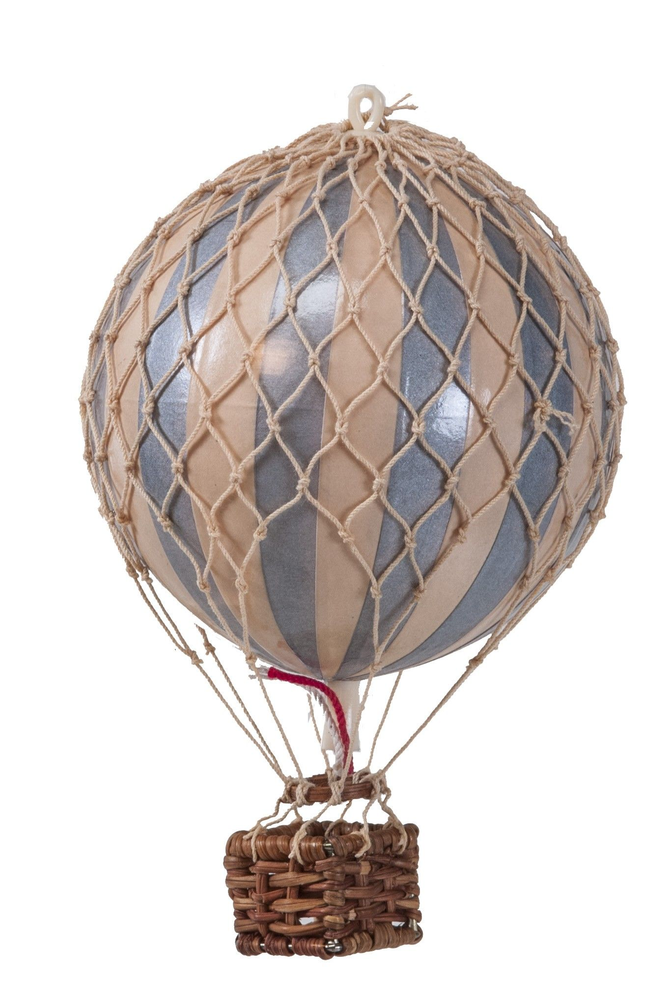 Hot Air Balloon Silver and Ivory Home Accents at