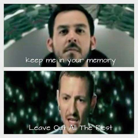 Linkin Park Leave Out All The Rest Lyrics