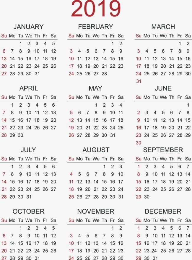 Pin de namu em decoracines   Calendar, 2019 calendar e ...
