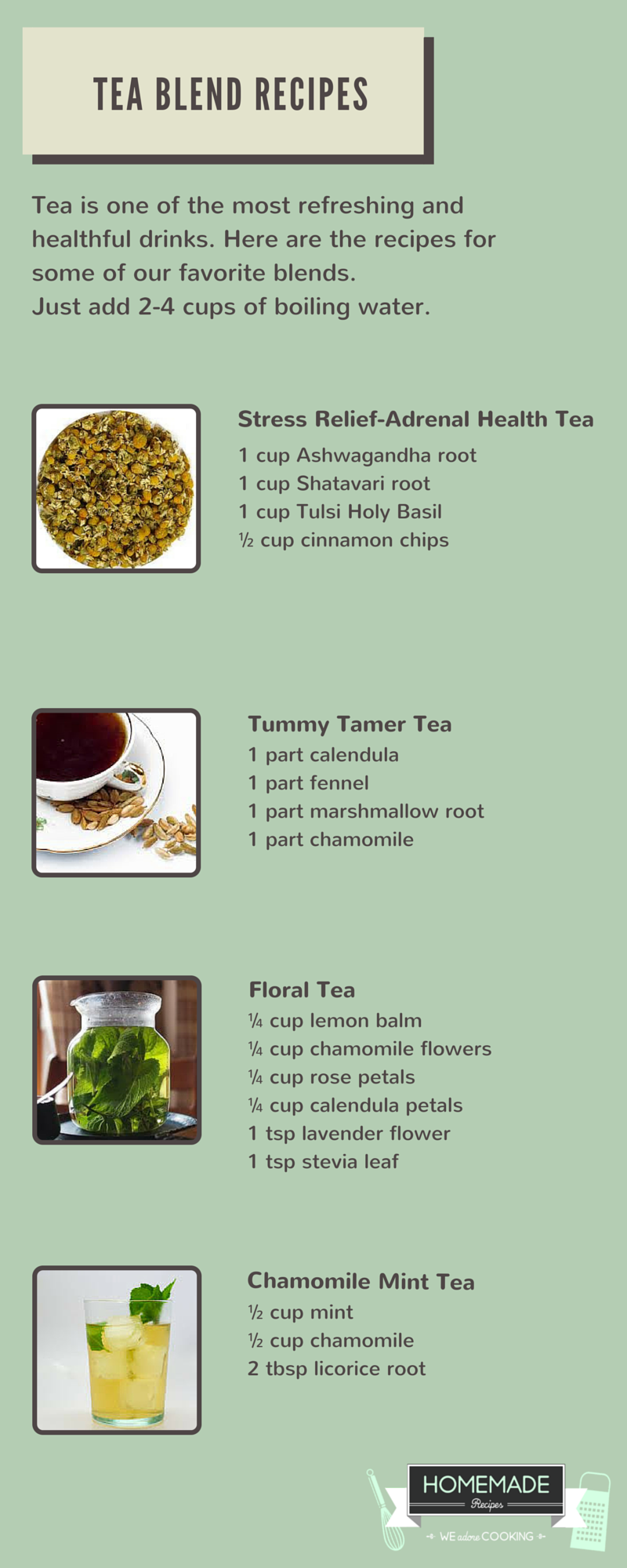 How to make a healthy tea with mint: recipes that you did not know