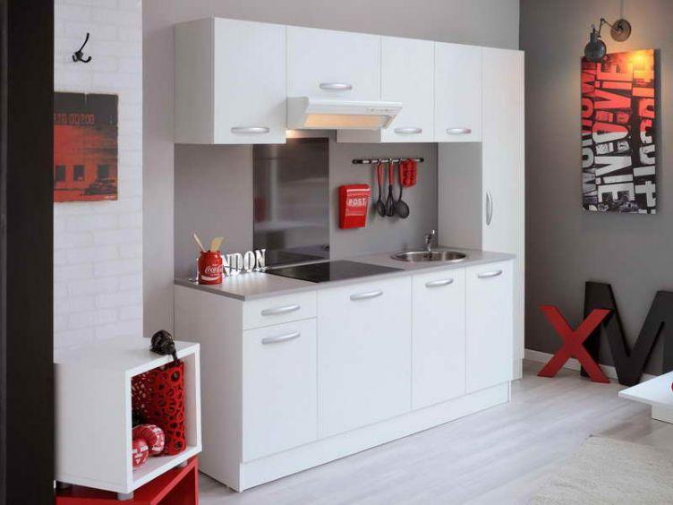 Meuble Cuisine Pas Cher En Kit Idees Deco Maison With Regard To Cuisine Pas Chere En Kit