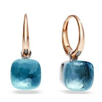 Pomellato Nudo Earrings With Colorless Topaz in 18k Gold Now available at Diamond Dream Fine Jewelers https://www.facebook.com/pages/Diamond-Dream-Fine-Jewelers/170823023636 https://www.diamonddreamjewelers.com info@diamonddreamjewelers.com 908.766.4700