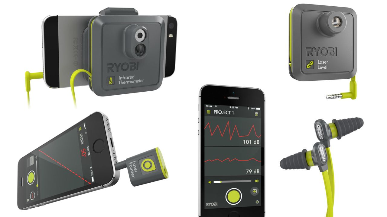 Transform Your Phone Into Your Smartest Tool With Ryobi Phone Works Phone Smartphone Technology T Mobile Phones