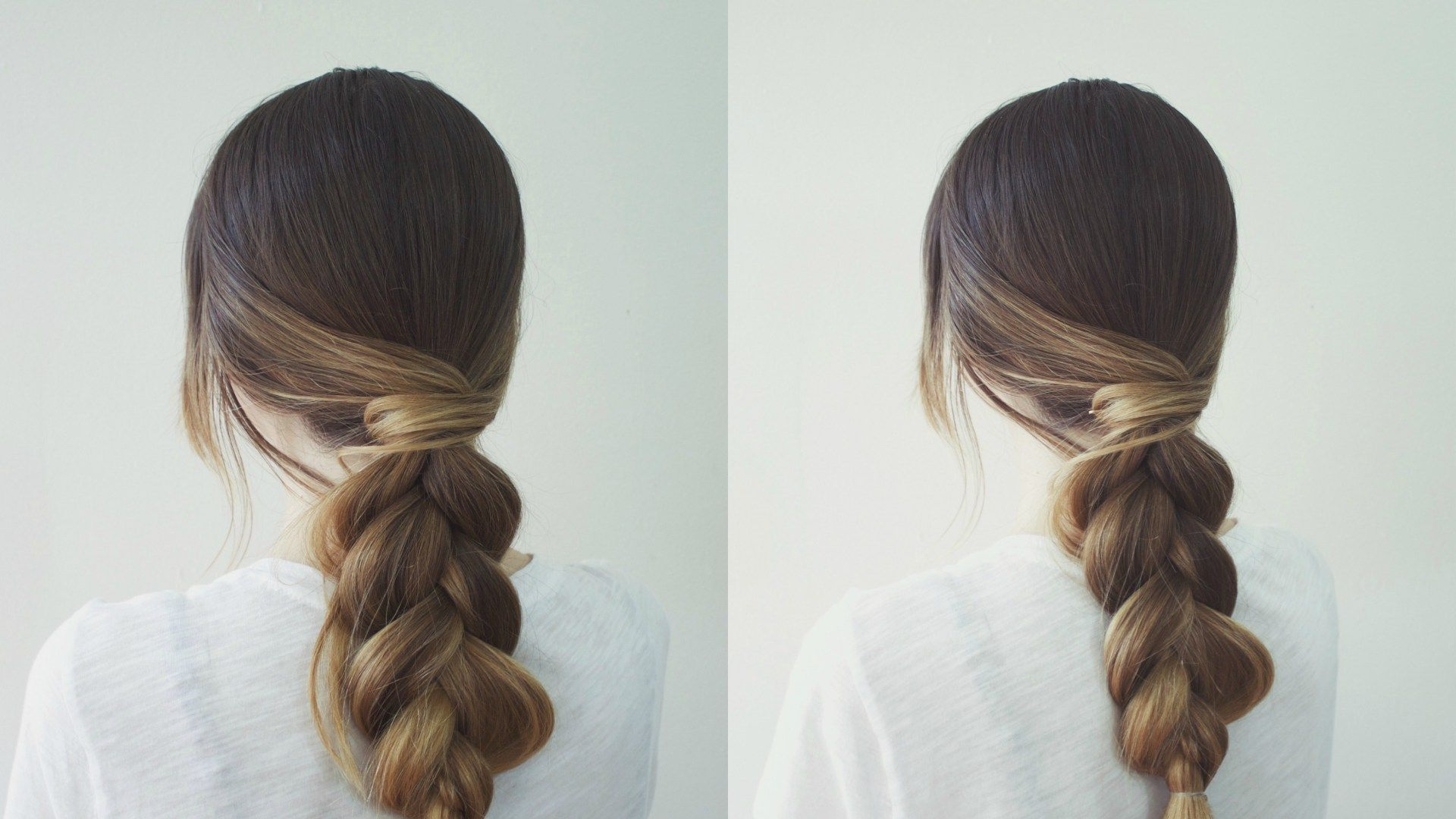 Classic Braid With A Simple Twist | Diy hairstyles, Hair looks, Casual hairstyles