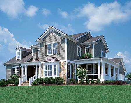 Attractive Plan W5638AD: Photo Gallery, Traditional, Sloping Lot, Corner Lot House  Plans U0026 Home Designs