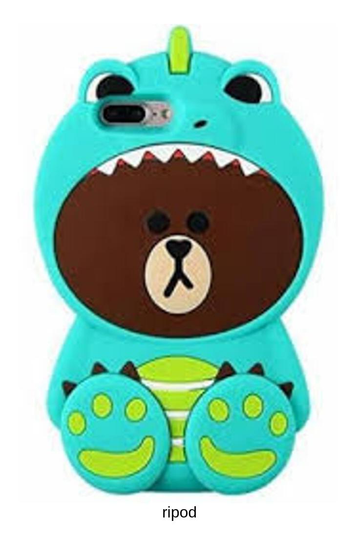 iPhone 6 Cute Case, iPhone 6S Case, Funny 3D Cartoon