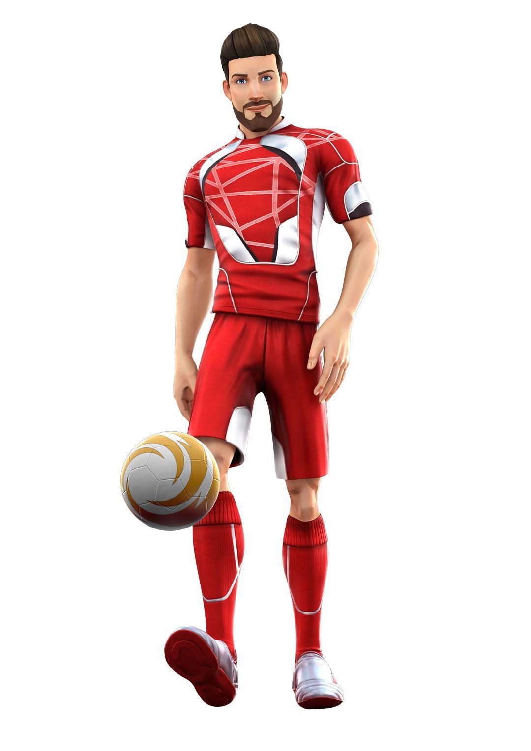 A male KSR Soccer Champion Sports, Xbox one, Champion