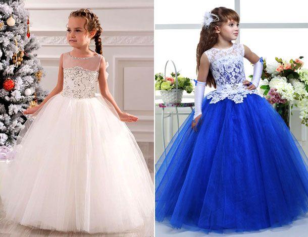 Бальные платья для девочек на годик