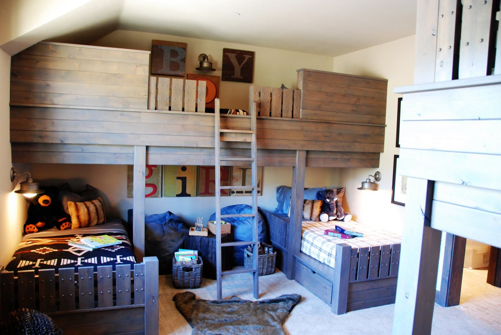 Bunk beds for adults with desk - 17 Best Images About Beds For Boys On Pinterest Quad Boys And Twin Bunk Beds