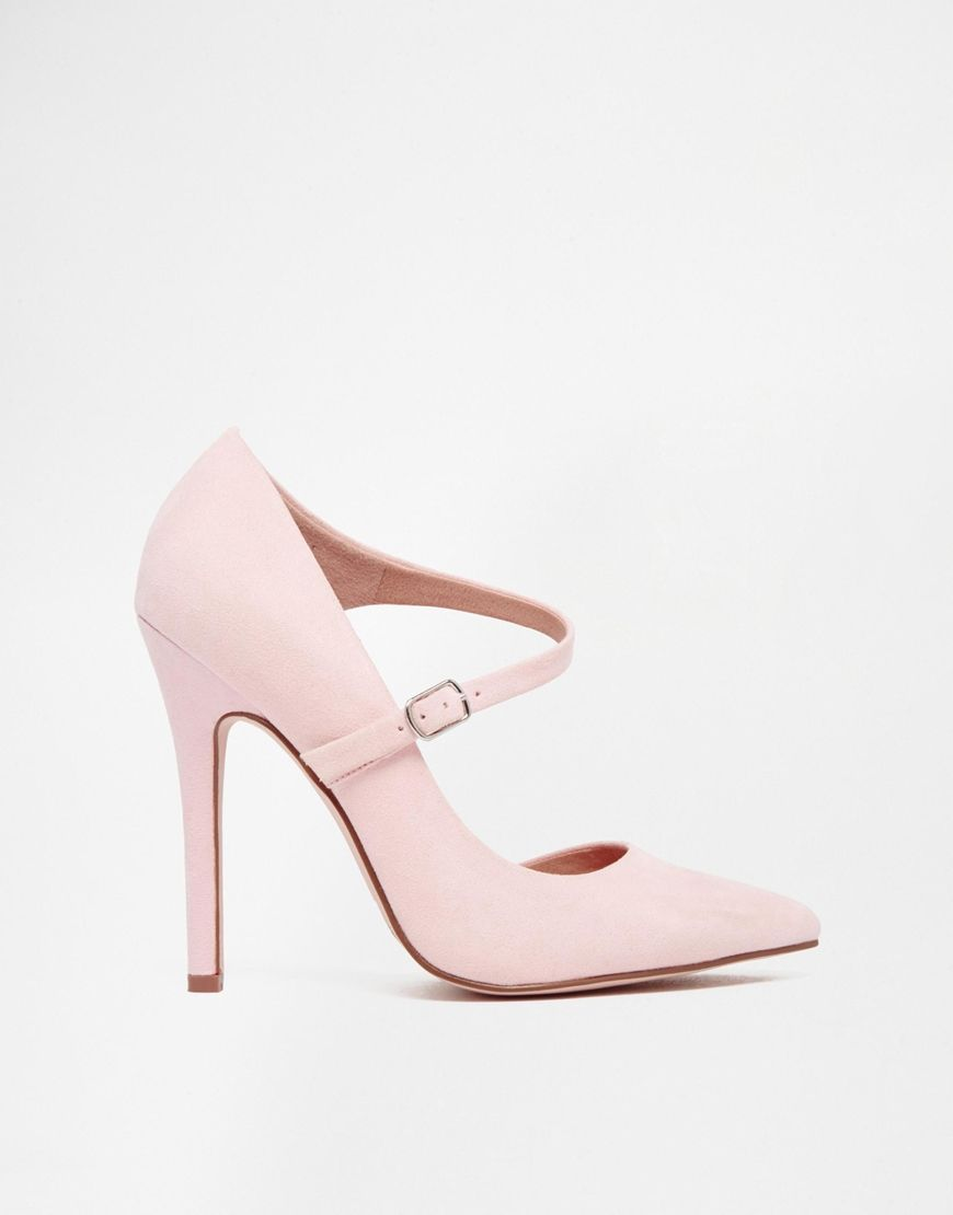 f10d29c53aa2 Image 2 of ASOS PALM VIEW Wide Fit High Heels