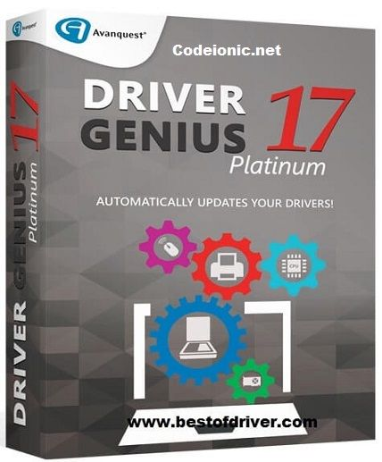 Driver Genius 17 0 0 142 With License Key & Crack | CodeIonic - Full