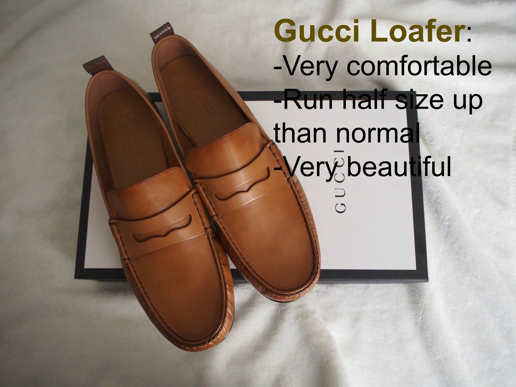 fa383acb2b5 Gucci Leather Loafer Unboxing and Review