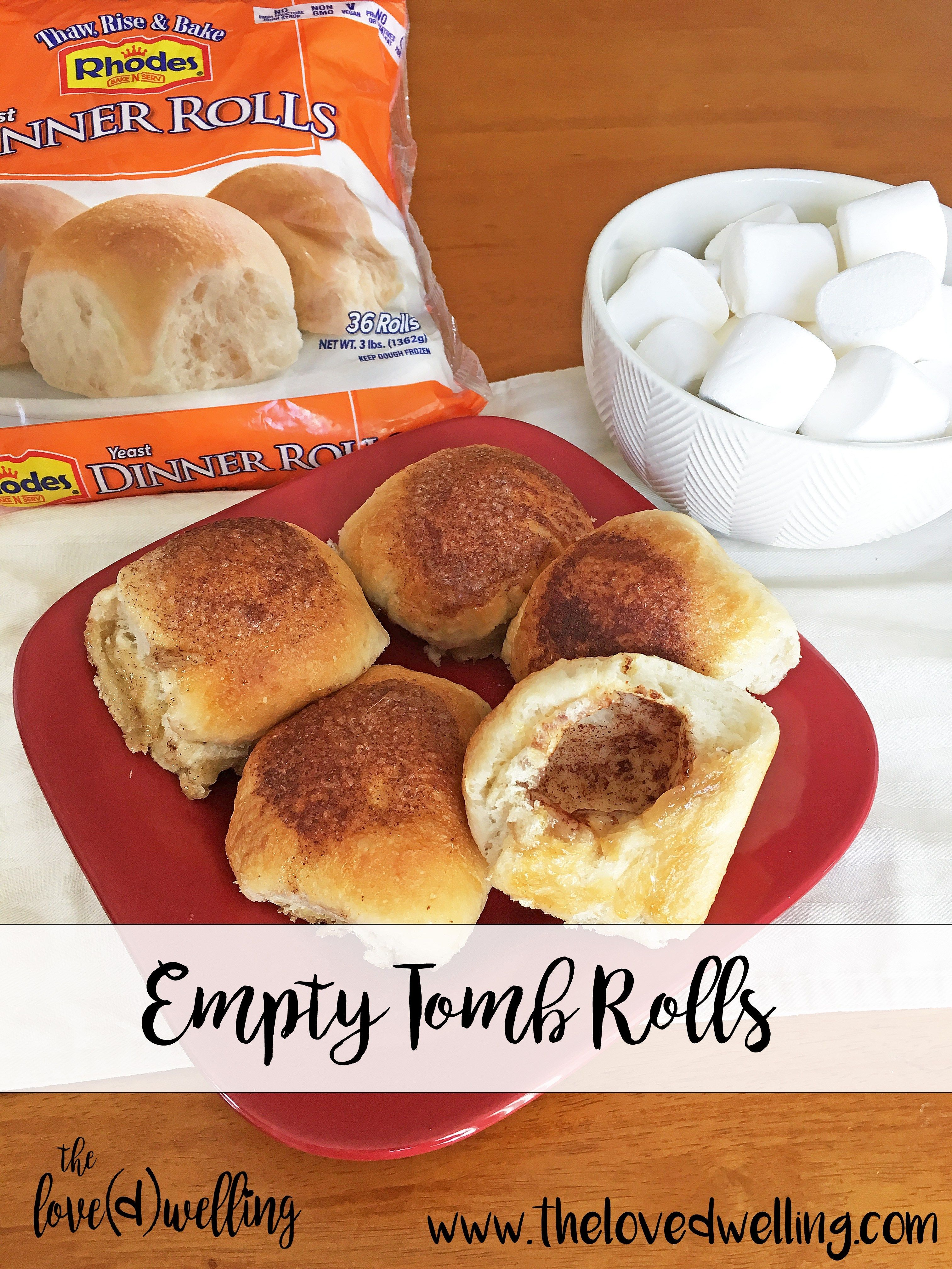 Empty Tomb Rolls Easy Resurrection Rolls Easter Tradition