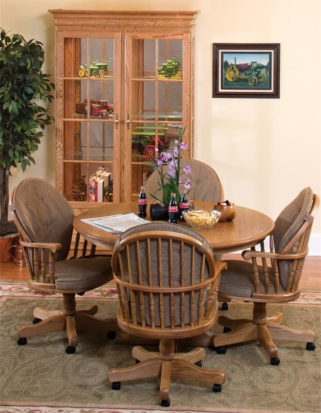 Heritage Swivel Dining Room Chair Or Office Chair Amusing Leather Swivel Dining Room Chairs Design Decoration