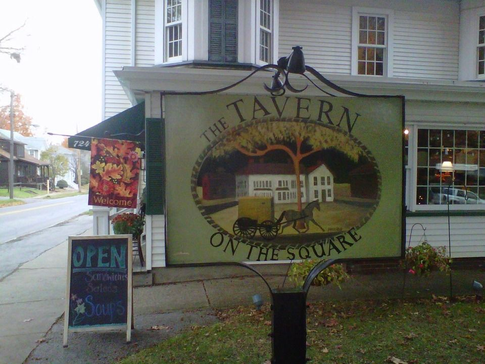 New wilmington tavern on the square sign new