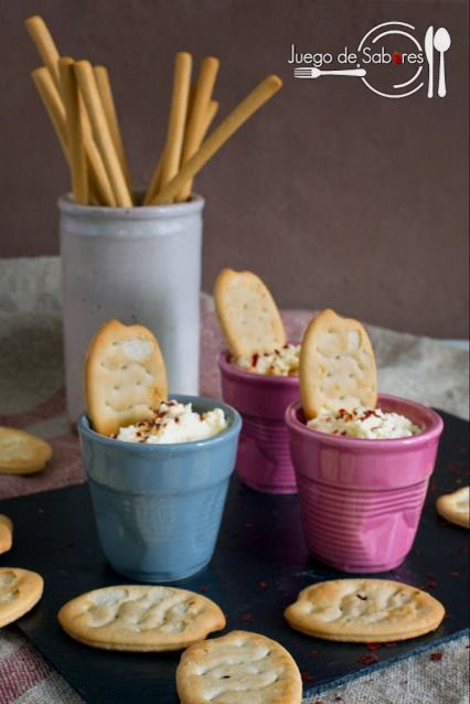 Feta Pate with Pepper Flakes