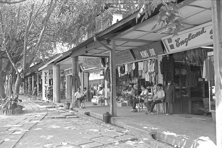SHOPS AT CHANGI VILLAGE  CHANGI, THE LAST AREA IN SINGAPORE