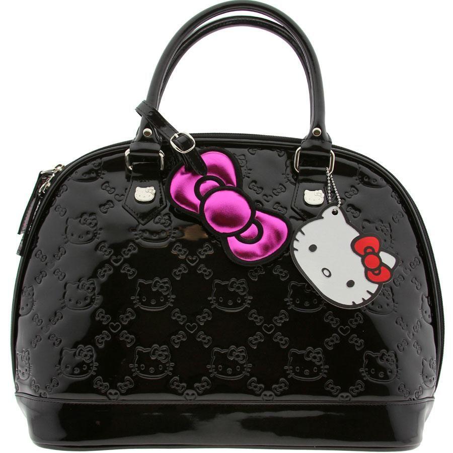 6229eac35 Hello.Kitty.Small.Black.Emblem.Bag.(black) I have this bag and I love it.  Thanks Jojo!!