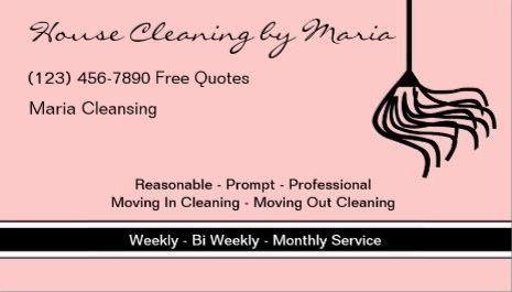 Maid housekeeper business cards housekeeper pinterest maid housekeeper business cards housekeeper pinterest housekeeper maids and business cards colourmoves