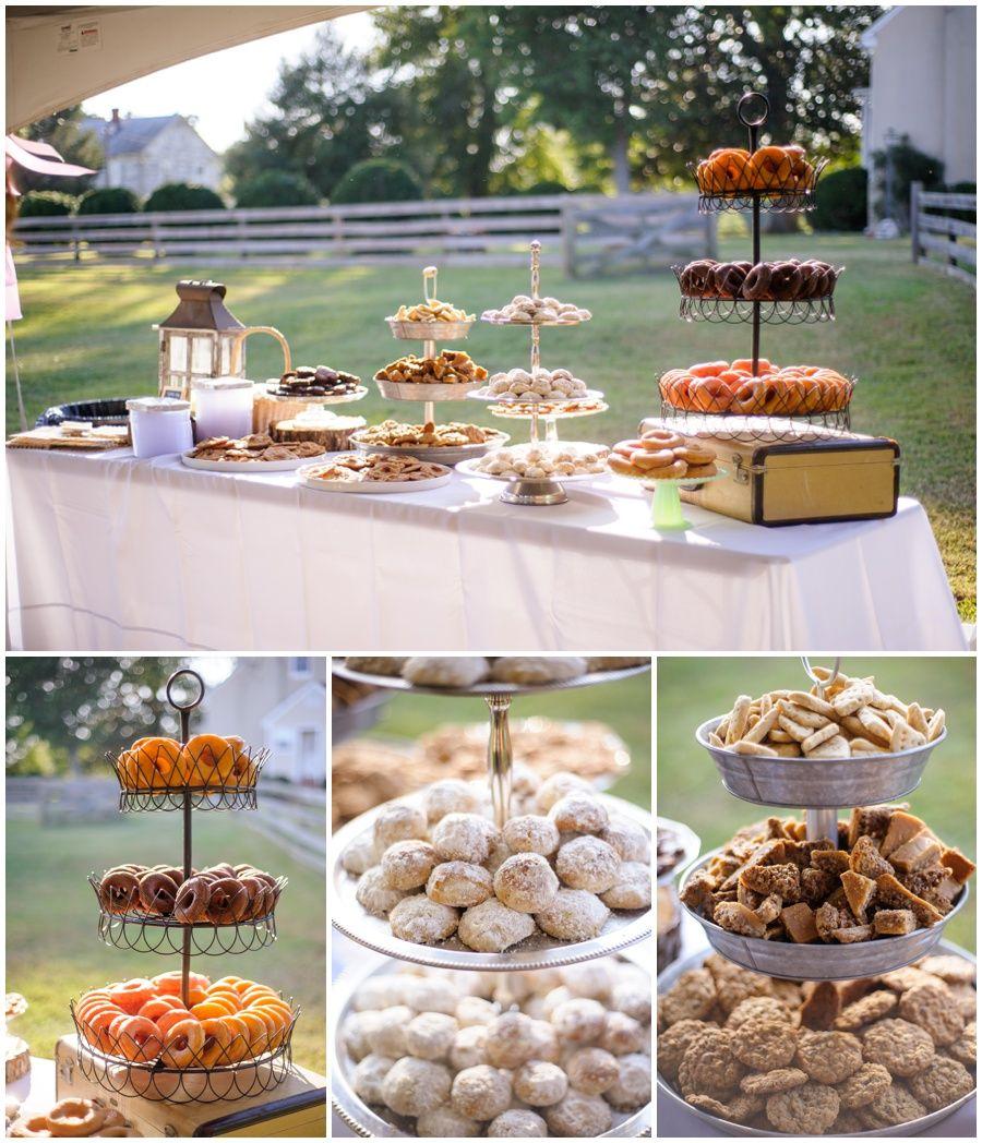 Dessert Bar Weddings The Details Of The Gwaltneys Smithfield