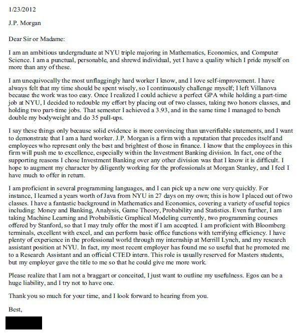 cover letter template jp morgan