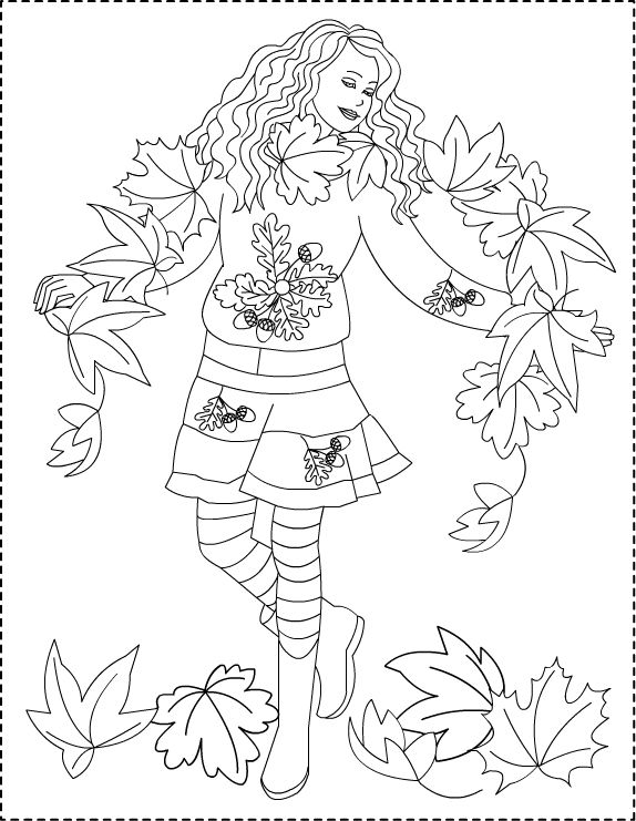 Copyright Nicole Florian Coloring Pages Fall Coloring Pages Free Coloring Pages
