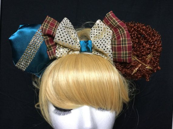 Brave Merida Mouse Ears in my Etsy shop! Starlet Harmony Creations Co!