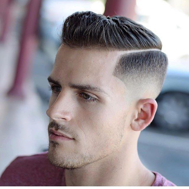 awesome 50 Sumptuous Tape Up Haircuts - The Fade for Classy Gentlemen Check more at http://stylemann.com/best-tape-up-haircuts/