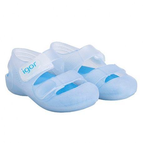 Zapatos blancos Igor infantiles x3j2y