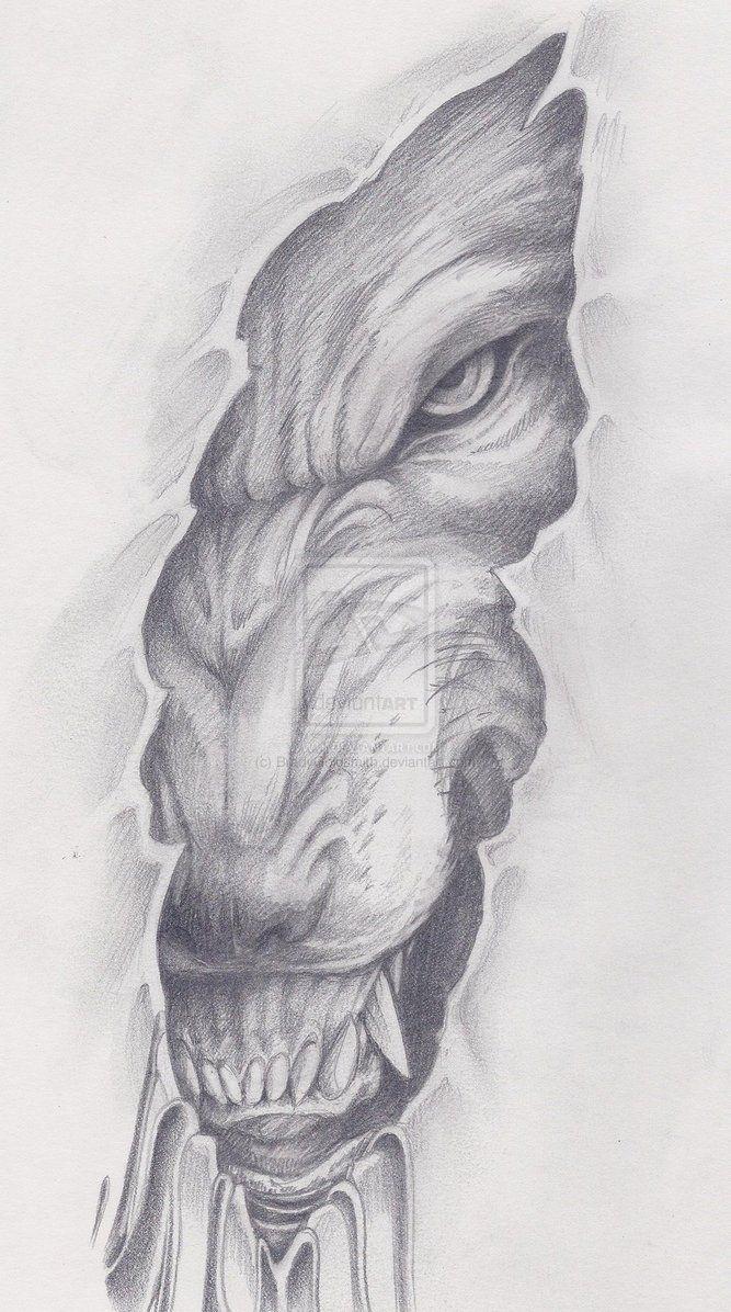 Werewolf by brandygoldsmith DeviantArt