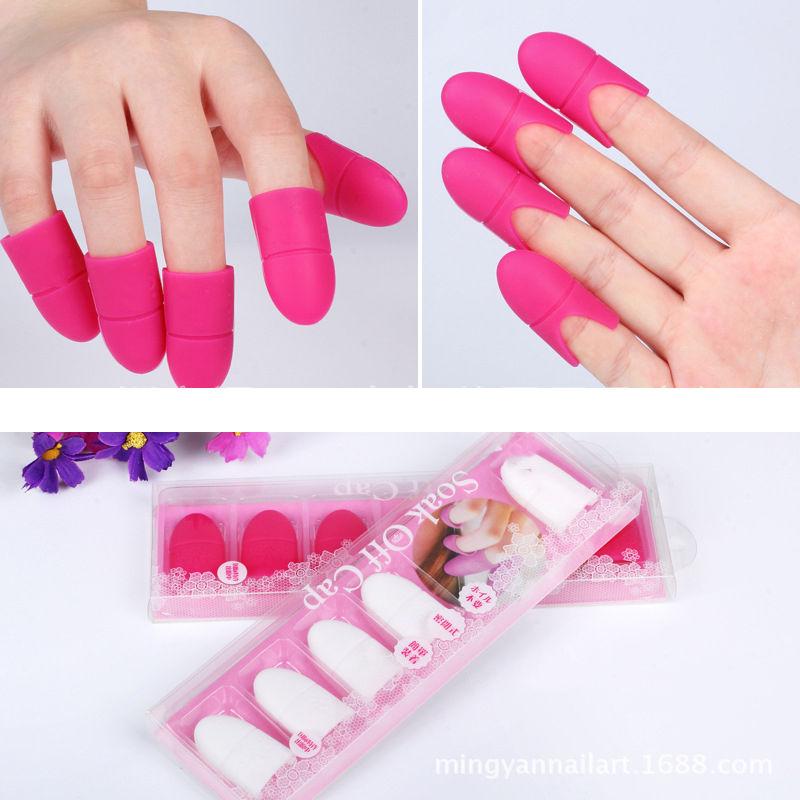 New Uv Gel Polish Remover Wraps Silicone Soak Off Cap Clip Manicure Nail Tool Gel Polish Manicure Manicure Nail Manicure