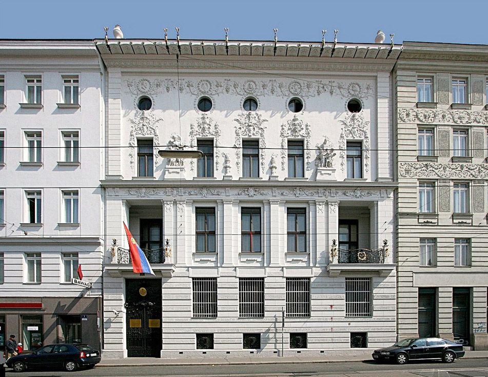 Otto Wagner Palais Hoyos 1889 90 Rennweg 5 Vienna Modern
